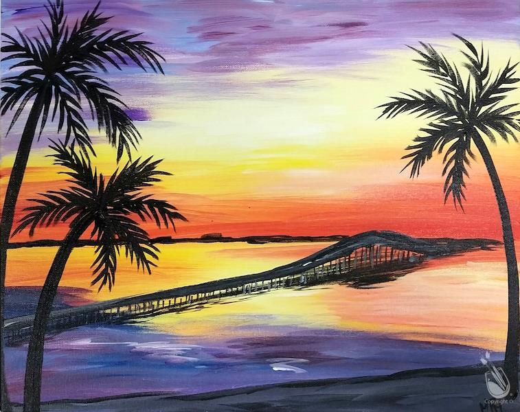 How to Paint 3 Mile Bridge