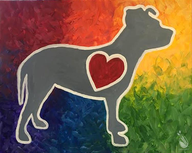 How to Paint Open Event - To Benefit Queen City Pitties