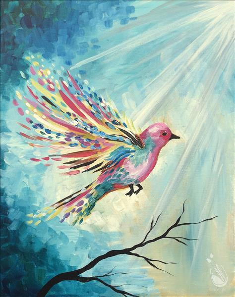 AFTERNOON ART: $5.00 OFF Feathered Flight