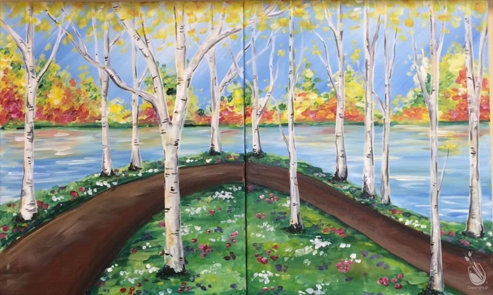 How to Paint CANCELLED Birch Stroll - Set