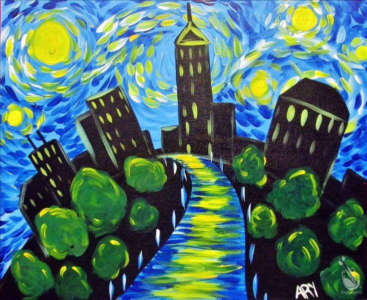 Kids Starry Night (All Ages) **LIMITED SEATING**
