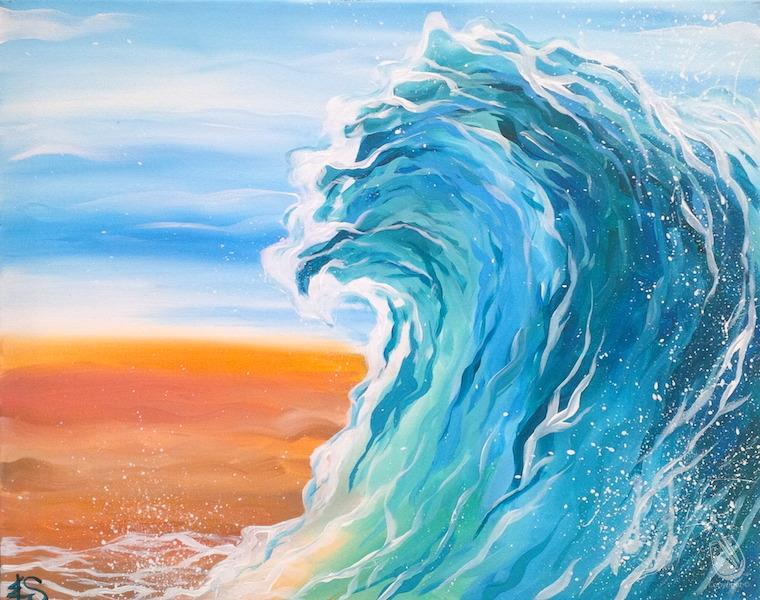 Virtual LIVE-Beach Waves