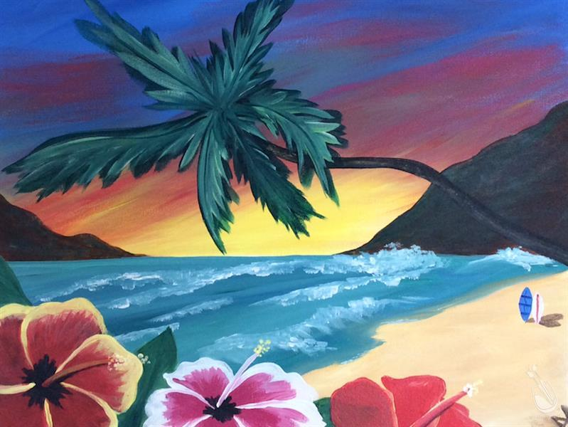 Tropical Sunset - Bring a Date or a friend!