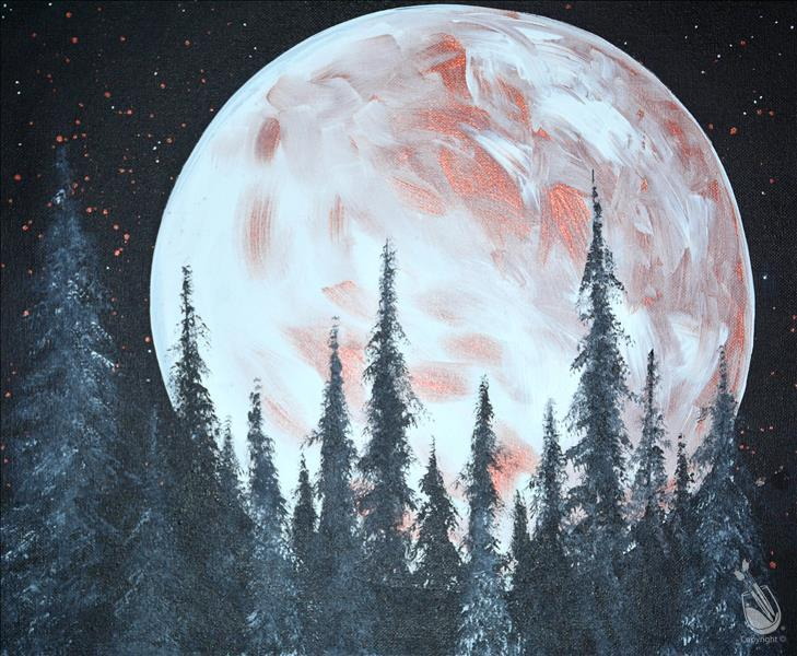 Copper Moon Rise (MONDAY FUNDAY! $25)