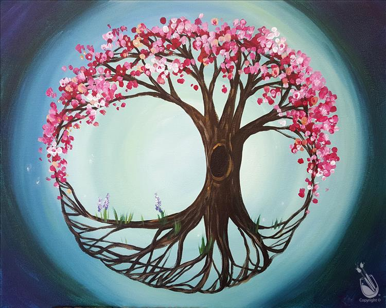 How to Paint Mystic Tree of Life