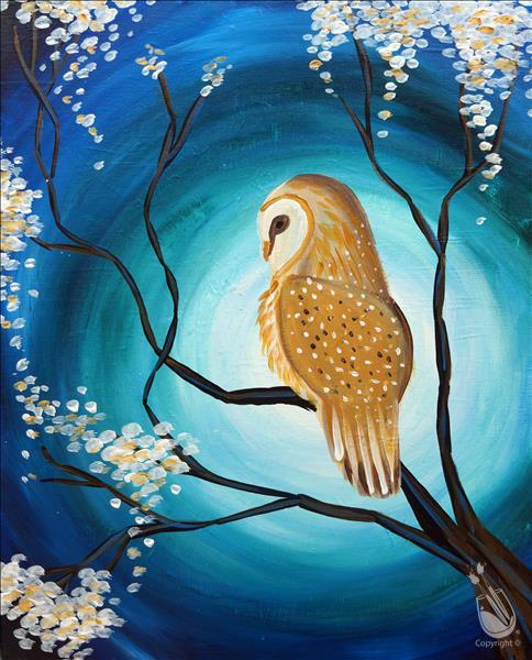 Tranquil Owl (Ages 10+) **LIMITED SEATING**