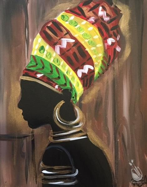 How to Paint PUBLIC Africa Love