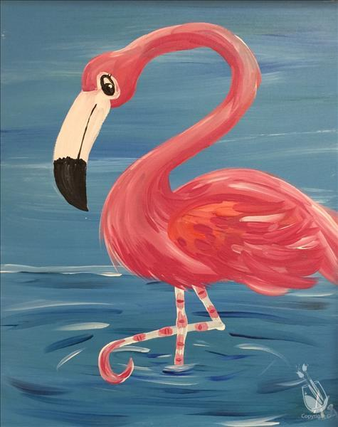 FAMILY FUN: Fancy Feet Flamingo: ages 6+