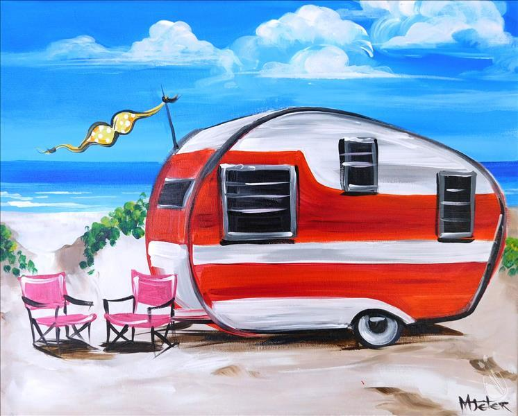 Wacky Wednesday-Beach Camper