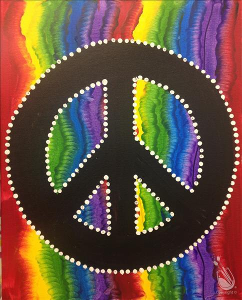 Tie Dye Peace *In Studio Event*