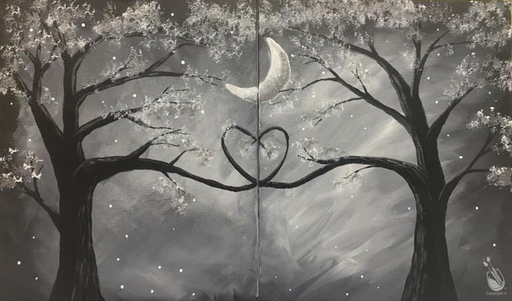 Silver screen romance couples 6 seats left saturday for Painting with a twist alamo ranch