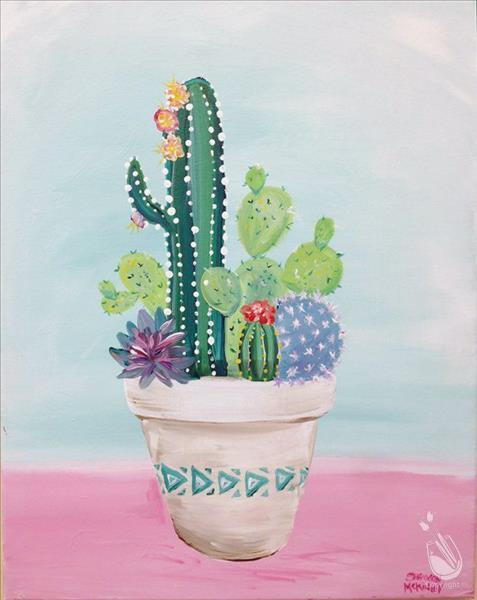 How to Paint My Little Cacti (Ages 10+)