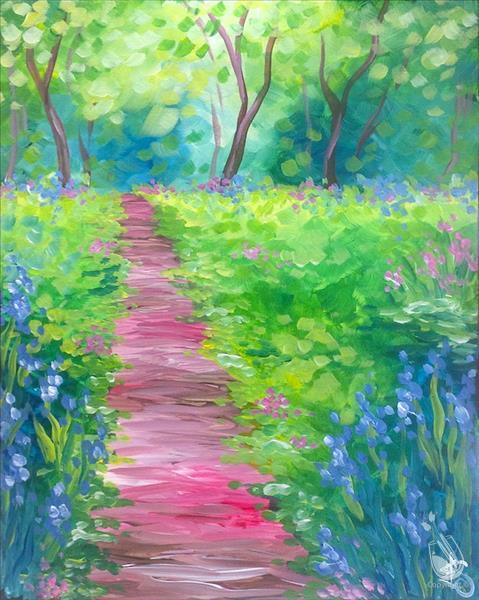 *IN STUDIO* Monet's Path