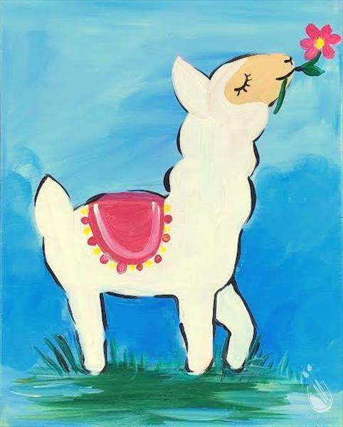 How to Paint **ALL AGES** Lucky Llama