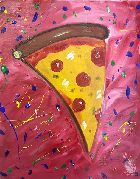 How to Paint I Love Pizza!