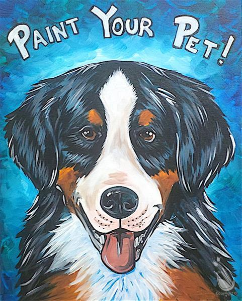 How to Paint PUBLIC! Paint Your Pet! Humane Society Fundraiser