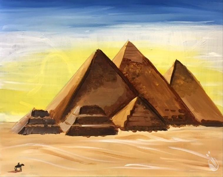 How to Paint Camp: Pyramids