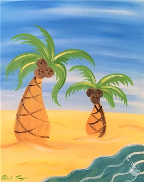 How to Paint FAMILY FUN: Lazy Palms: ages 6+