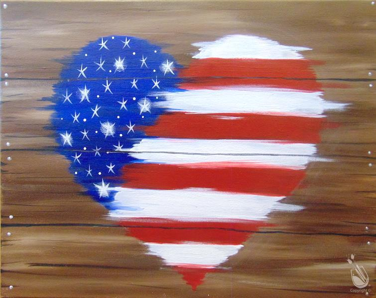 Rustic American Heart (IN STUDIO)