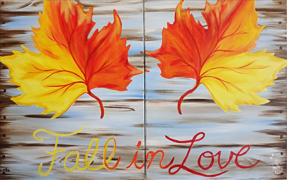 How to Paint Date Night - Fall in Love with Autumn - Set