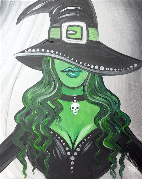 Witchy Woman Painting Party