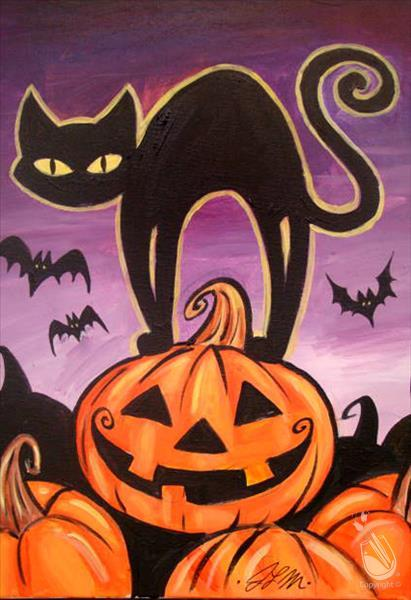 Halloween Cat - In Studio Class