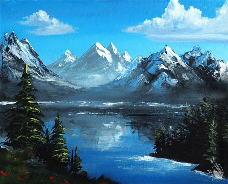 How to Paint Almighty Mountains and Happy Pines-CANCELLED