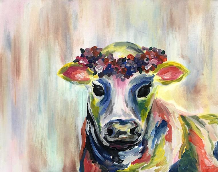Colorful Cow - Side 1