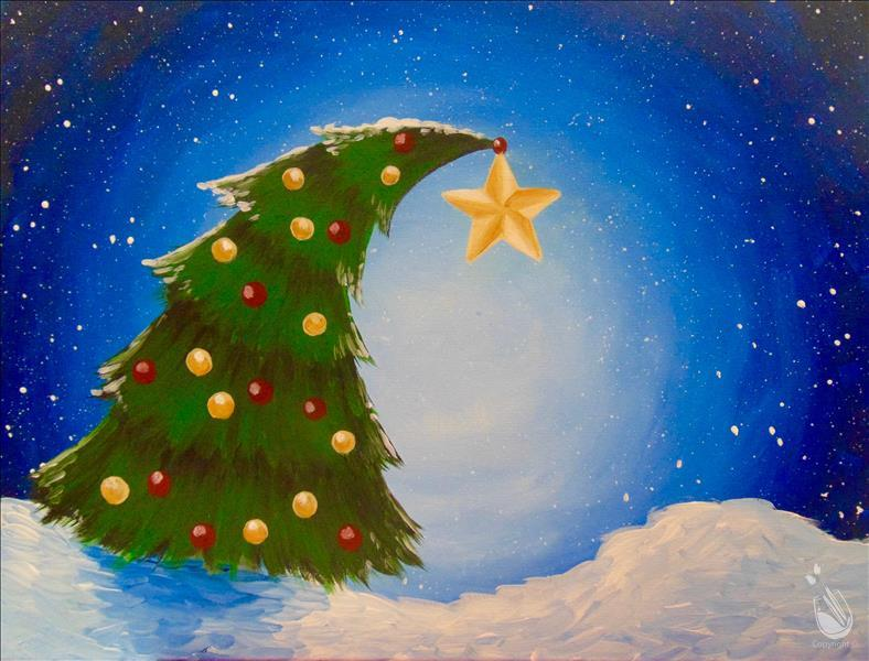 How to Paint Christmas Star