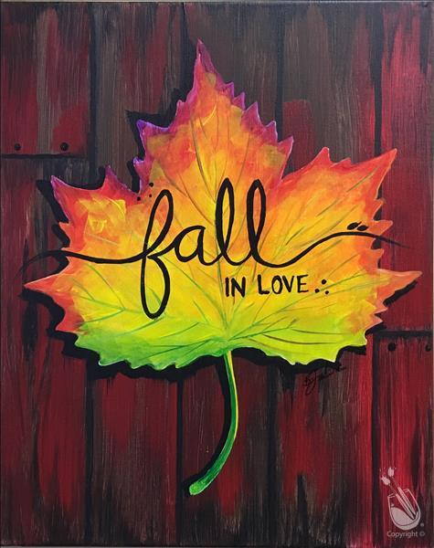 Colorful Fall in Love