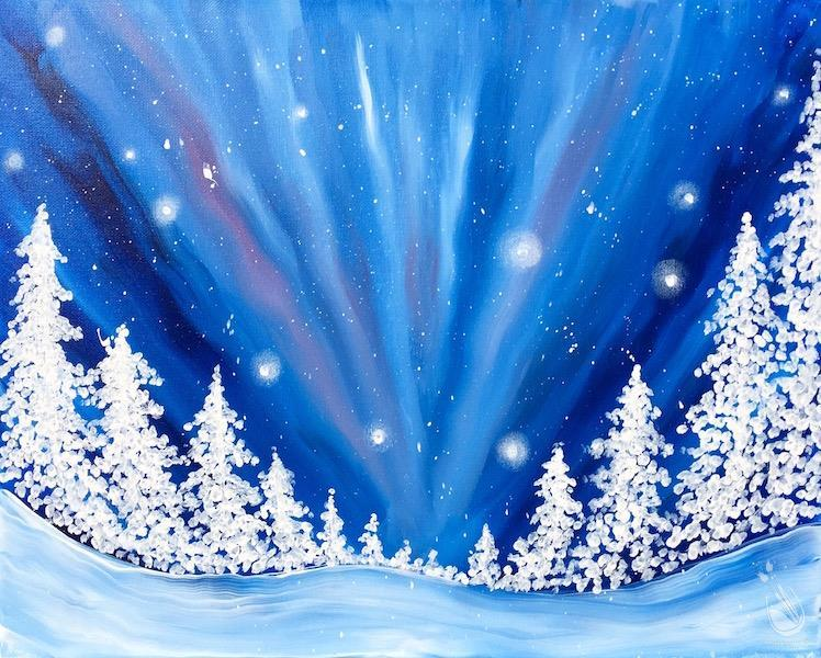 How to Paint Winter Wonder