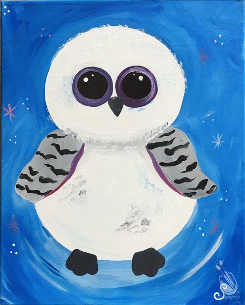 Pick Your Favorite Critter Snowy Owl  **ALL AGES**