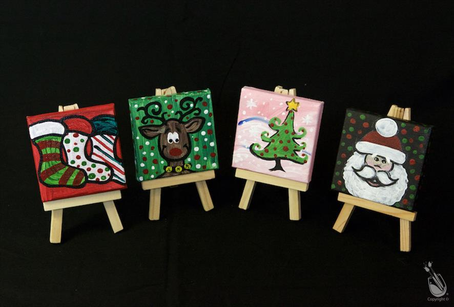 Traditional Christmas (Set of 4 Mini Easels)