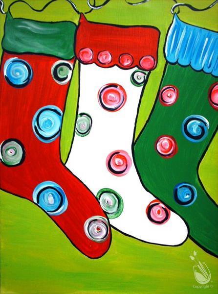 In Studio - Christmas Stockings (7+)
