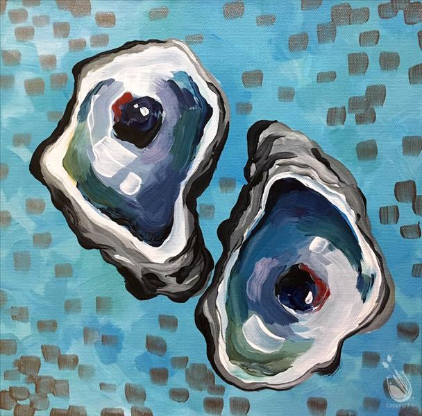 How To Paint Mimosa Saay The Oysters