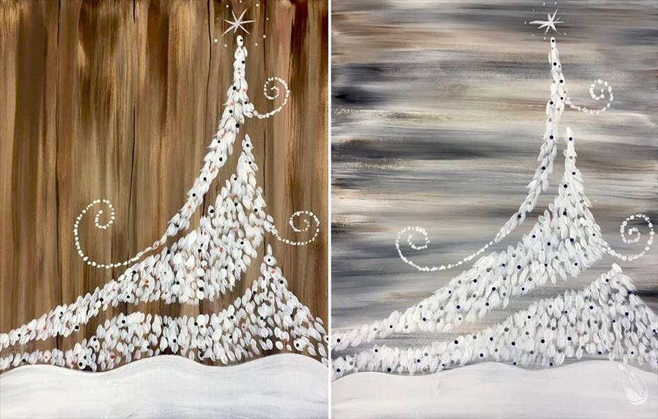 Twinkly Christmas Tree - Rustic Set