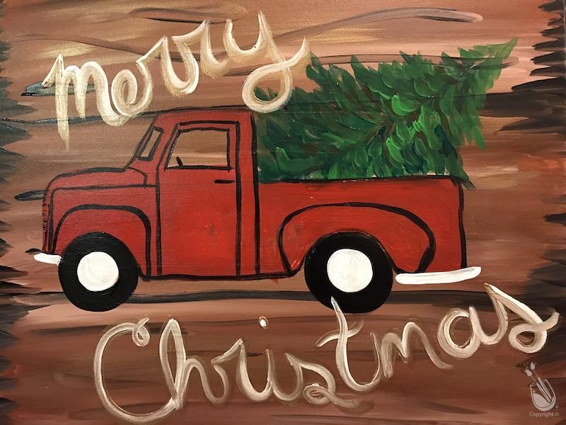 Rustic Holiday Truck