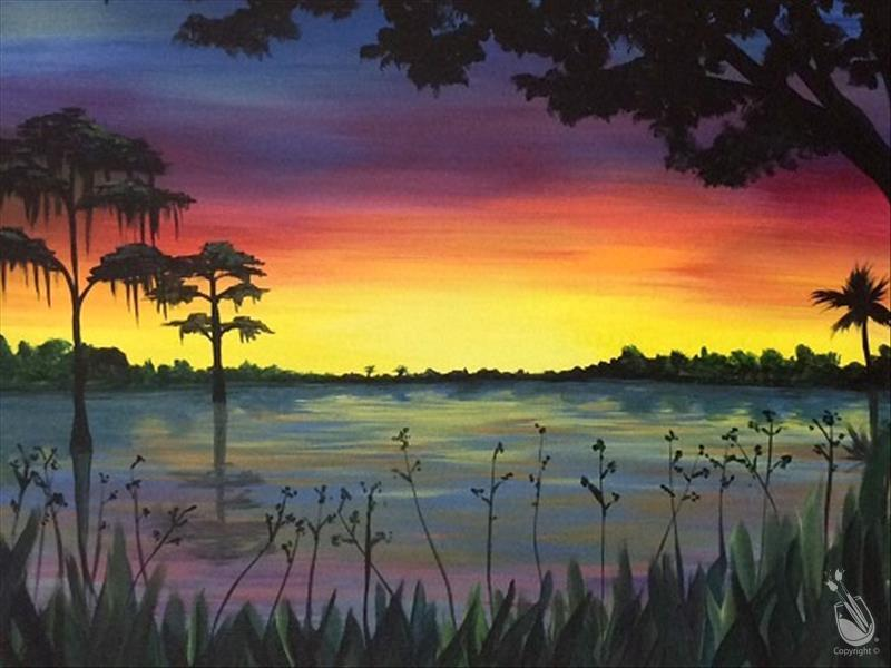 In STUDIO ~ Everglades Sunset