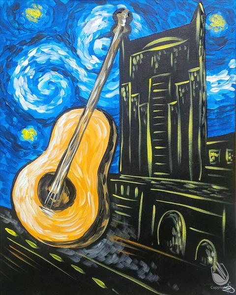 Guitarry Starry Night Over Nashville