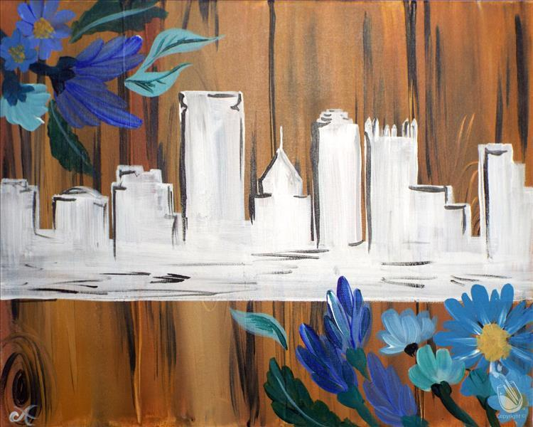 How to Paint **MANIC MONDAY** Rustic Pittsburgh