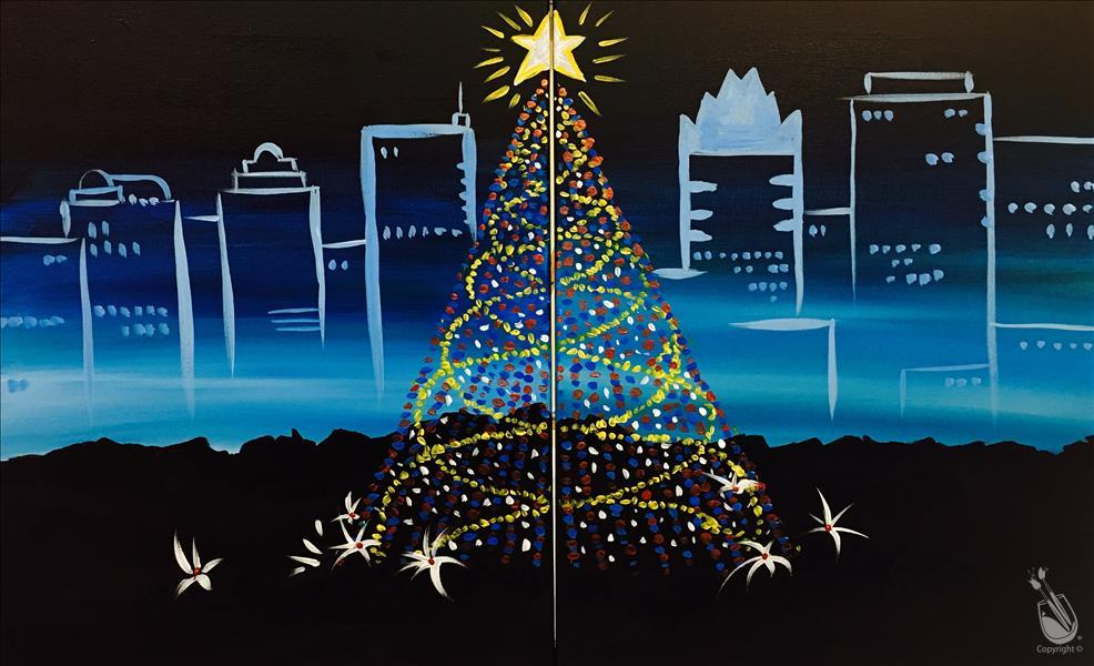 How to Paint Zilker Tree - Couple's Set or Single