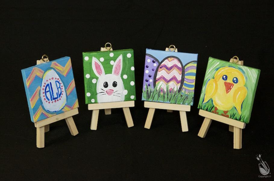 Easter Mini Easel Set
