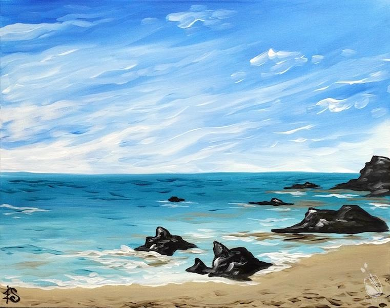 ART IN THE AFTERNOON ~ Blue Beach