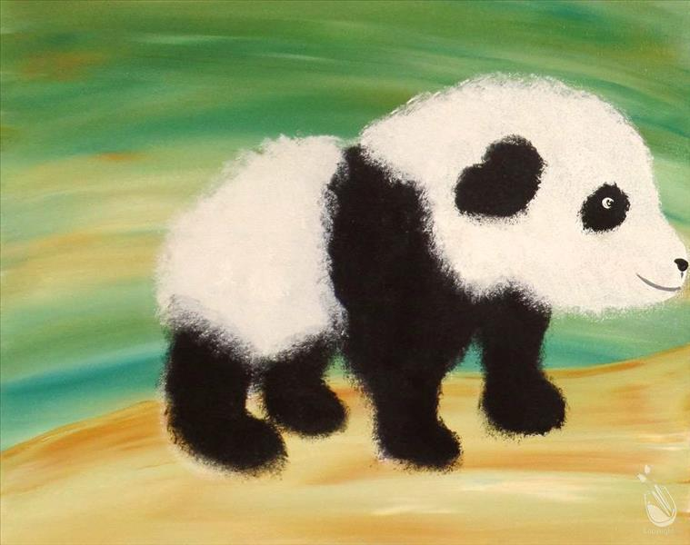 How to Paint Precious Panda | Family Class
