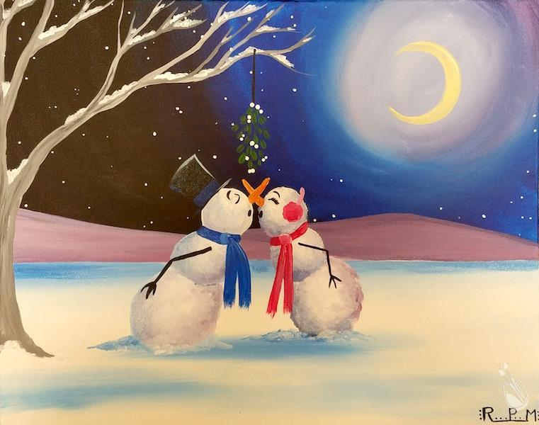 Mistletoe Wishes and Snowman Kisses