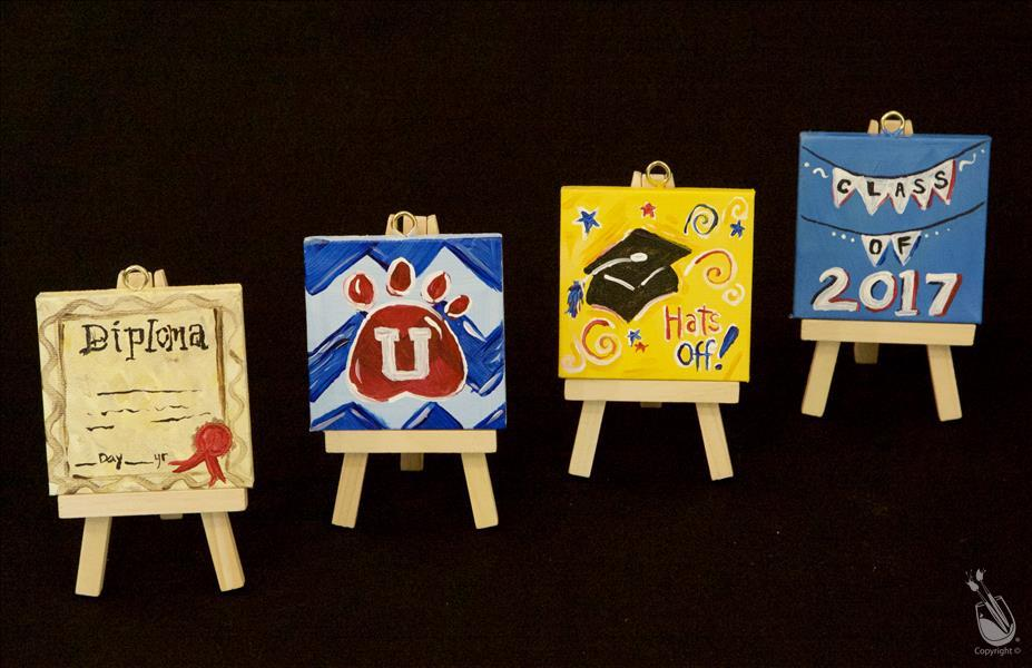 Graduation Mini Easel Set