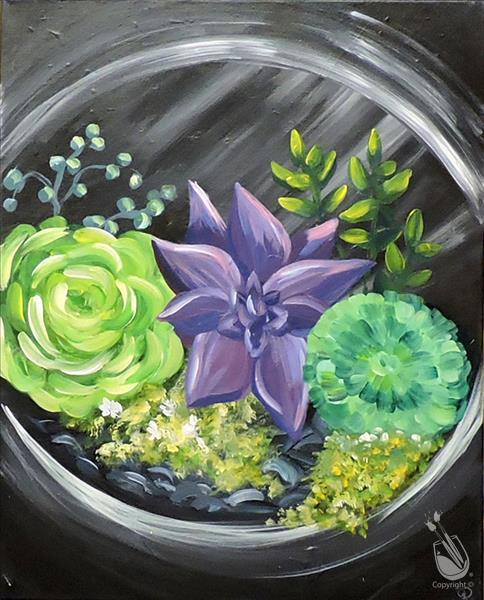 Succulent Garden - NEW ART!