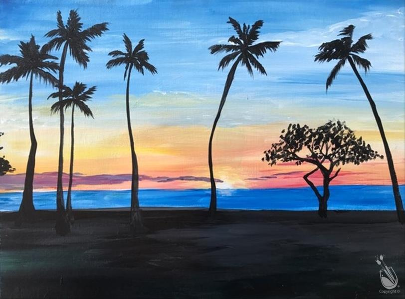 In Studio- Ala Moana Sunset (21+)