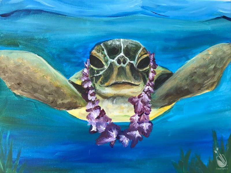 How to Paint Happy Turtle