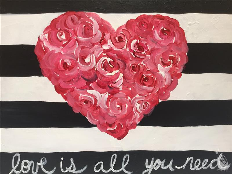 Love is all you Need - Customize Your Pallet Paint